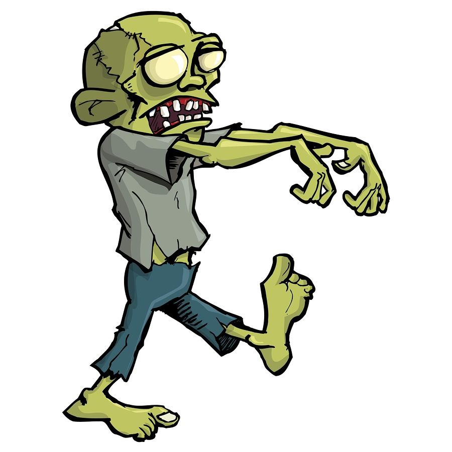 Cartoon Characters Zombies : October aussie writers