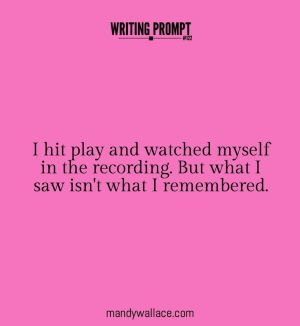 Writing prompt 1