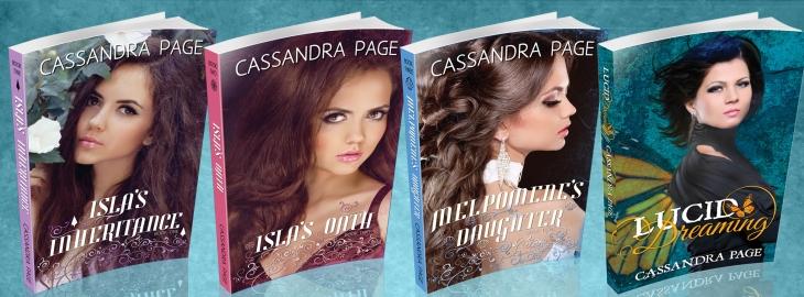 Cassandra Page books