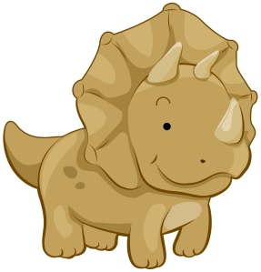 Cute Triceratops